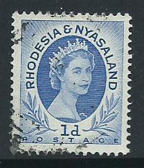 Rhodesia & Nyasaland SG 2  VFU