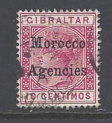 Great Britain Morocco sc # 13 used (RS)