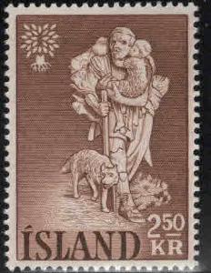 ICELAND Scott 325 MNH** 1960 Refugee stamp