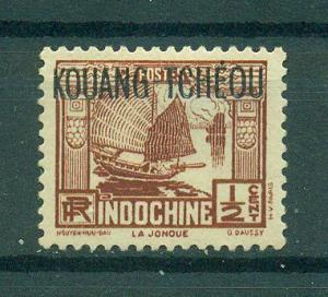 French Offices in China Kwangchowan sc# 102 mng cat value $.35