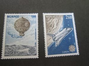 Monaco 1983 Sc 1368-9 set MNH