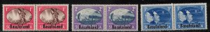 BASUTOLAND Scott # 29-31 MH - Peace Issue - South Africa With Overprint 2