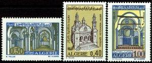 Algeria #456-58  MNH - Three Mosques (1970-71)