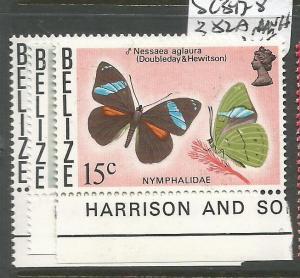 Belize SC 347-8, 382a MNH (3cup)