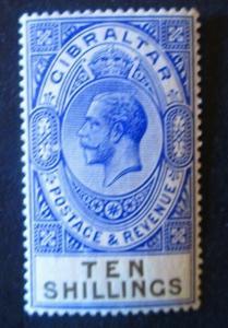 Gibraltar #91 Mint Hinged- (AZ5) WDWPhilatelic!