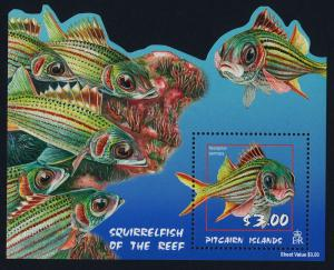 Pitcairn Islands 583-6a MNH Fish, Marine Life
