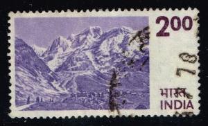 India #683 Himalayas; used (0.50)