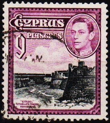 Cyprus.1938 9pi S.G.159 Fine Used