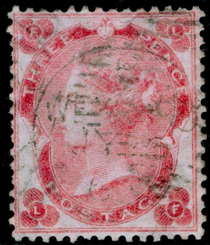 SG77, 3d pale carmine-rose, FINE USED. Cat £325. IRELAND. LF