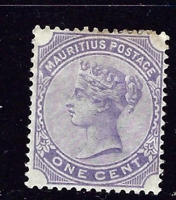 Mauritius 68 Hinged 1893 issue