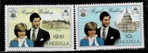 Anguilla 1981 Royal Wedding MNH