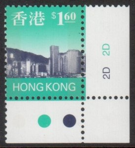 Hong Kong Scott 770 - SG855, 1997 Skyline $1.60 MNH**