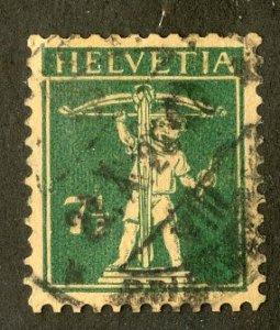SWITZERLAND 163 USED SCV $7.75 BIN $3.00 YOUNG BOY