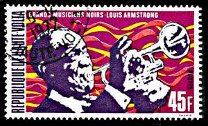 Upper Volta 270, CTO, Louis Armstrong