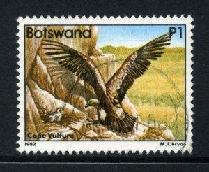 Botswana 1982 P1 Birds - Vulture, SG 531 used