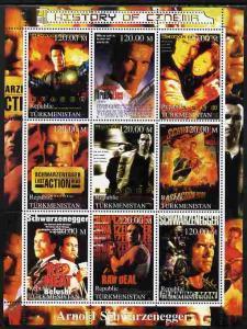 Turkmenistan 2000 History of the Cinema - Arnold Schwarze...