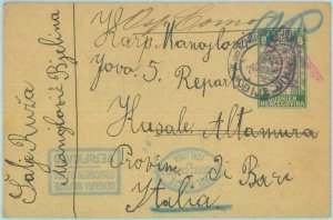 89949 - BOSNIA - POSTAL HISTORY - POW Mail to CONCENTRATION CAMP in ITALY