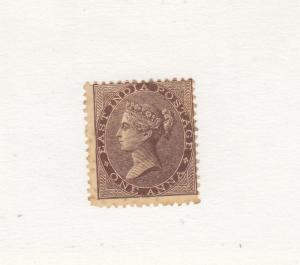 INDIA # 12 MNG QUEEN VICTORIA 1 ANNA CAT VALUE $80