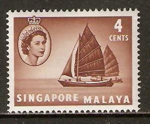 Singapore   #30  MNH  (1955)  c.v. $1.25
