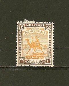 Sudan 80 Mint Hinged