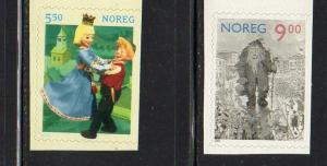 Norway Sc 1329-0 2002 FairyTales stamp set mint NH