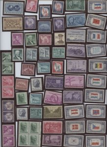 U.S. #Mint/Used Collection of Stamps Mixed Condition