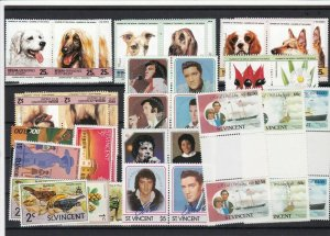 st vincent stamps ref 16472