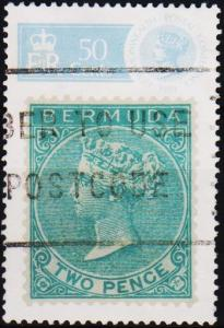 Bermuda. 1989  50c  S.G.604  Fine Used