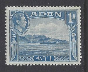 Aden, Scott #18; 1a King George VI, MH