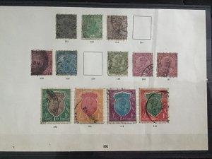 British India 1920-1926  stamps R29952