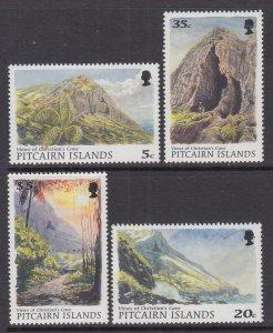 Pitcairn Islands 479-482 MNH VF