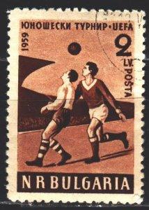 Bulgaria. 1959. 1101. Football. USED.