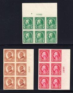 575-77 VF/NH Plate blocks