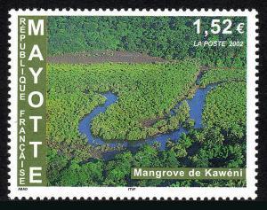 Mayotte 176, MNH. Kaweni Mangrove Swamp, 2002