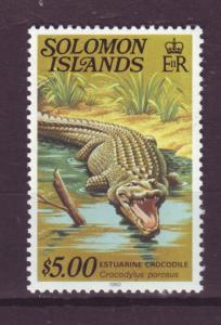 J18840  jlstamps all 1979 solomon islands mnh #412 wildlife