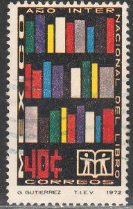 MEXICO 1048 International Book Year. Used.VF.  (261)