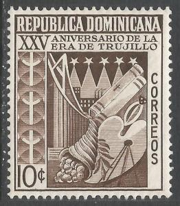 DOMINICAN REPUBLIC 465 MOG W454
