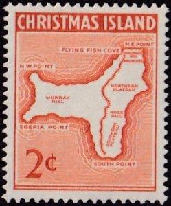 Christmas Island #11 Mint NH