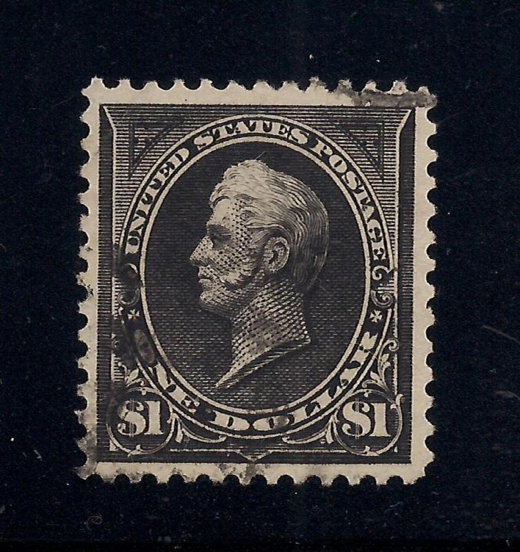 US#276A Black - Type II - Used - Certified - VF-ExF