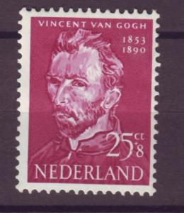 J15698 JLstamps 1954 netherlands hv of set mh #b268 gogh