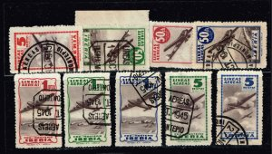Cinderellas Series Iberia, Spain STAMPS COLLECTION LOT