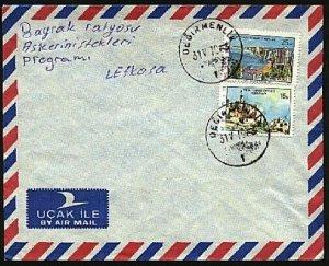 TURKISH CYPRUS 1978 cover DEGIRMENLIK cds..................................94265