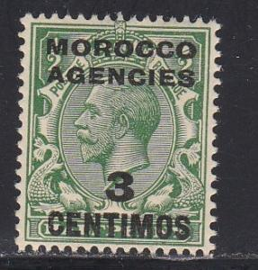 Great Britain - Morocco Agencies # 58, NH, 1/3 Cat.