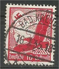 GERMANY, 1934, used 10pf  Swastika, Eagle Scott C47