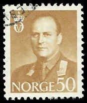 Norway - 364 - Used - SCV-0.25