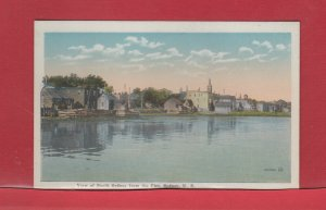 North Sydney Pier N.S. Nova Scotia Cape Breton unused post card