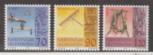 Liechtenstein Scott #1215-1216-1217 Stamps - Mint NH Set