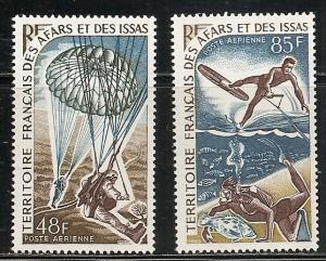 Afars & Issas C51-2 1968 Sports set MNH