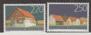 Liechtenstein Scott #1295-1296 Stamps - Mint NH Set