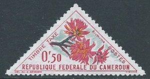 Cameroun, Sc #J35, 50c MH
